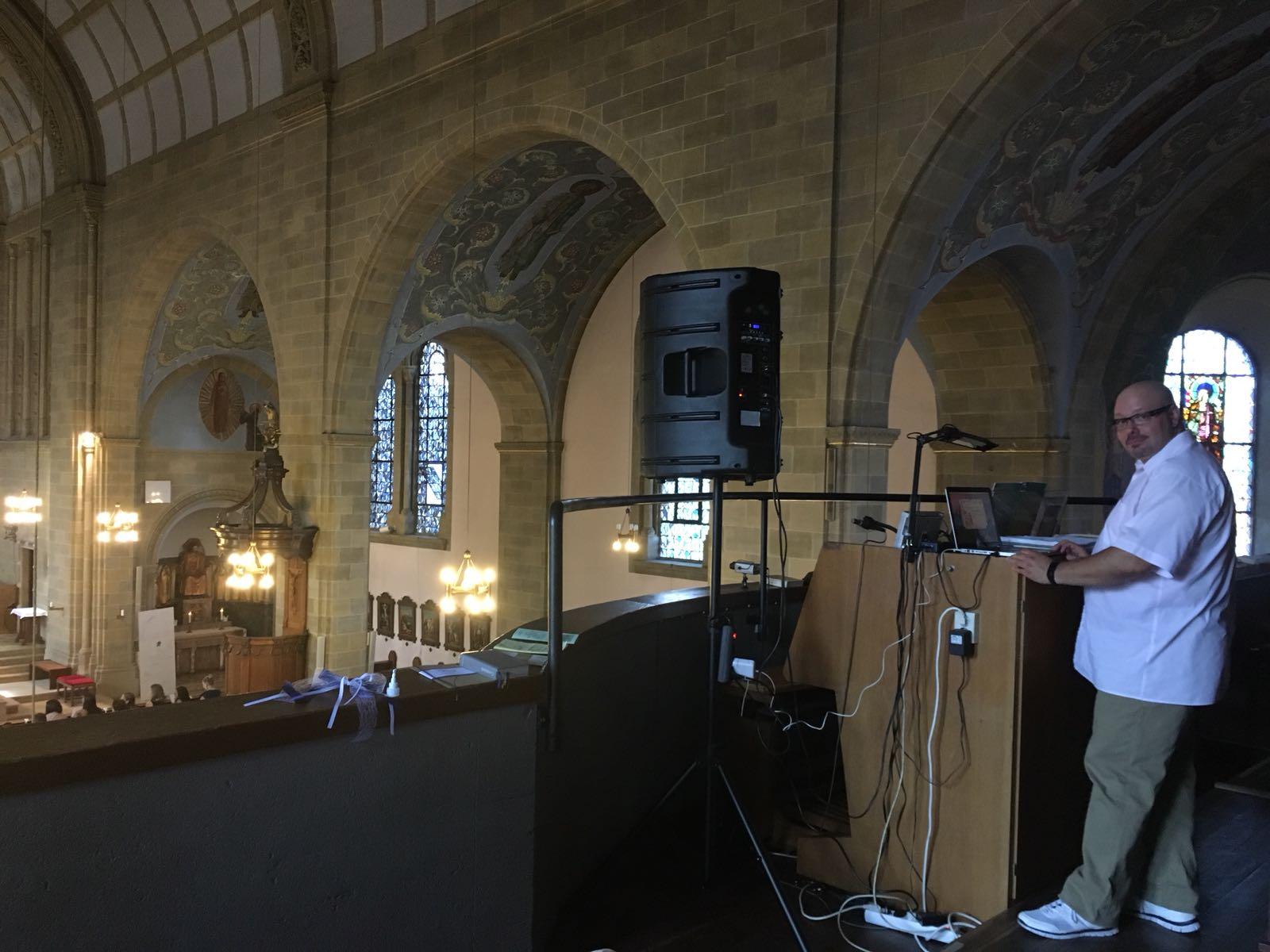 Hochzeit in der Kirche - Deejay Tony P