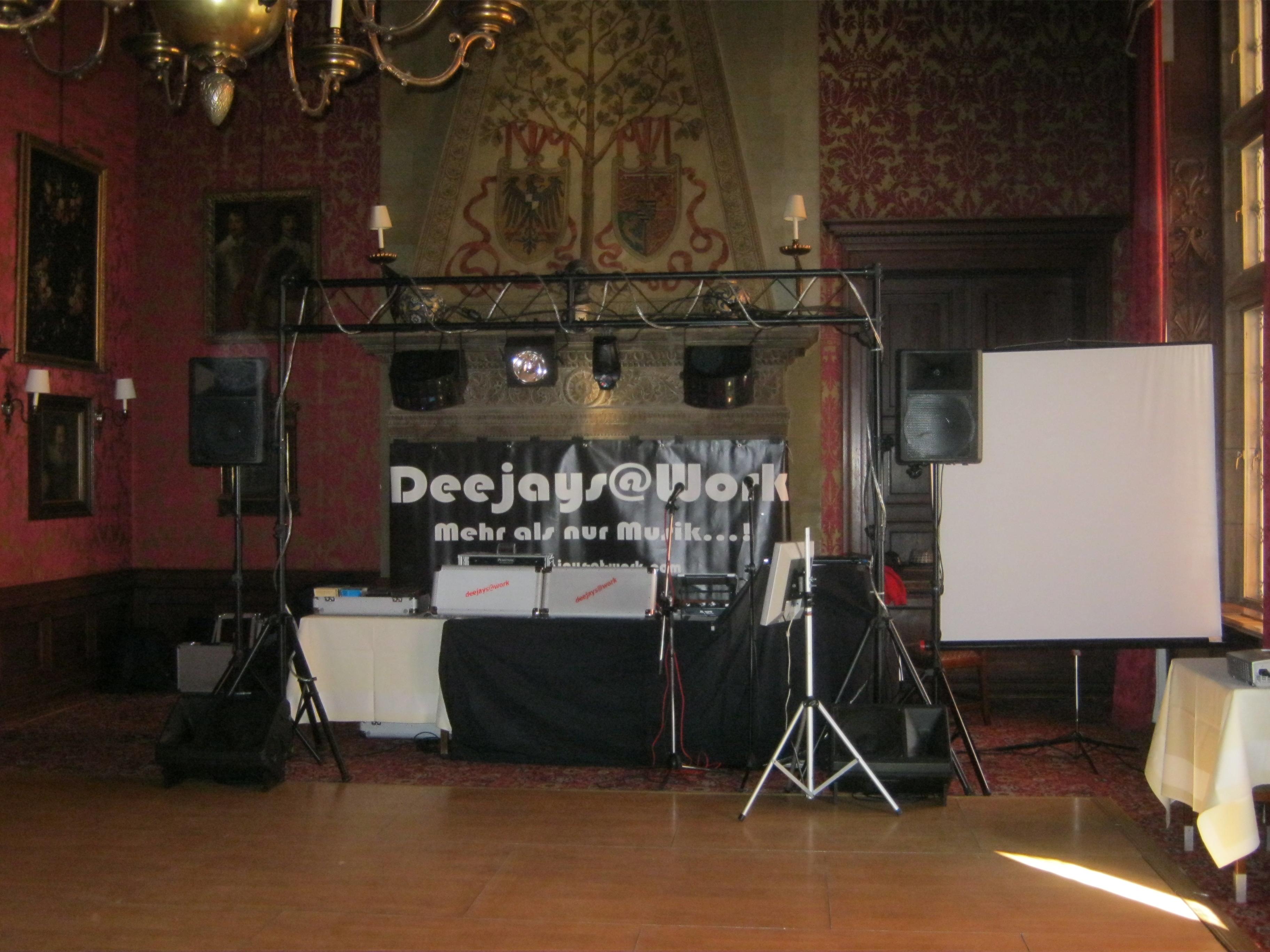 Barocke Firmenfeier | DJ TONY P