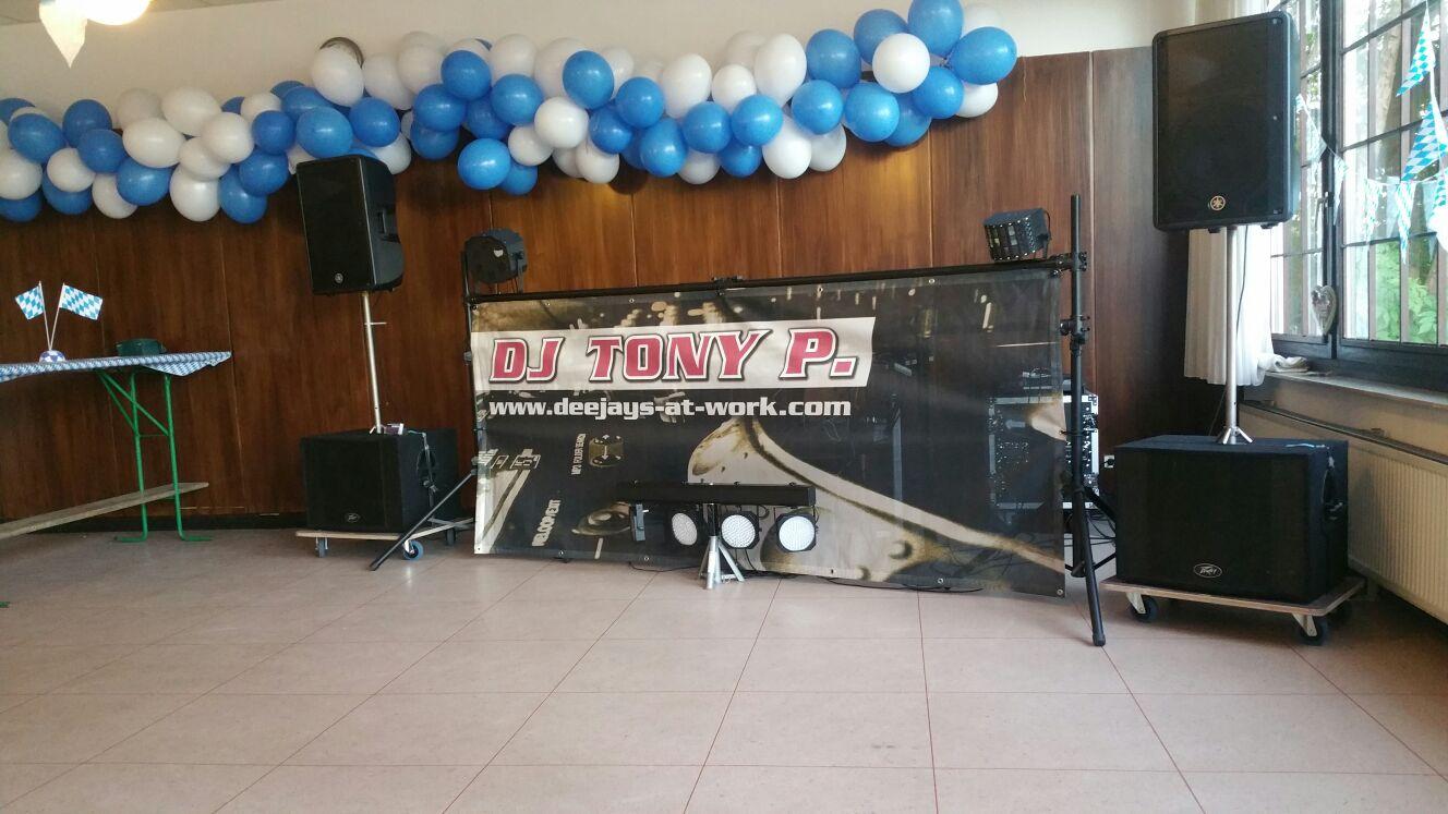 Oktoberfest indoor - Party und Event mit DeeJay Tony P