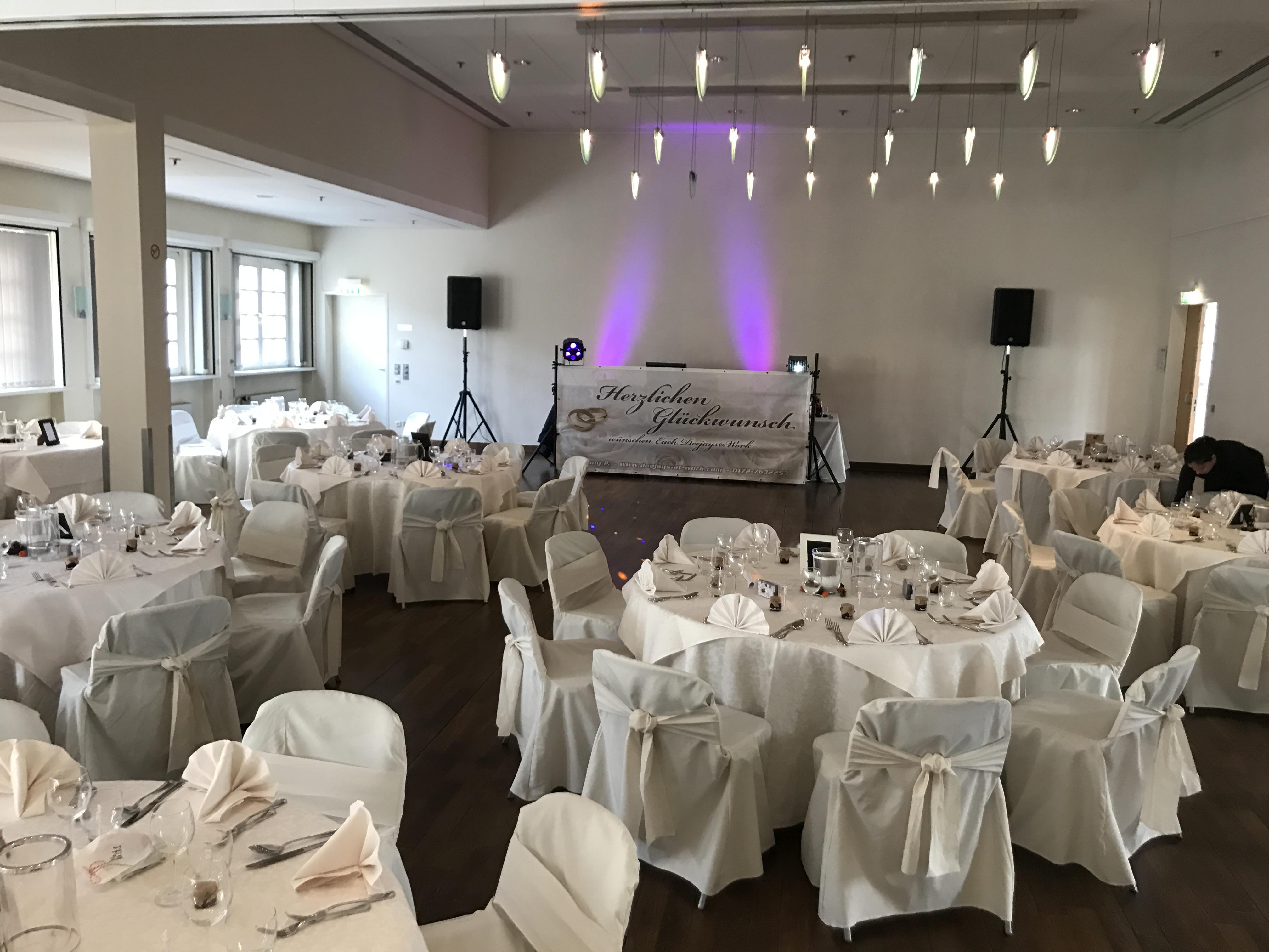 Hochzeit in weiß - Hochzeitsdj mit Herz | DJ TONY P