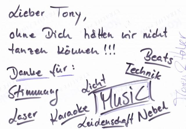 Hochzeitsdj mit Leidenschaft und Herz - Party | DJ TONY P
